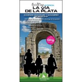 La Vía de la Plata. Camino Mozárabe y Sanabrés en bicicleta. Bernard Datcharry / Valeria H. Mardones
