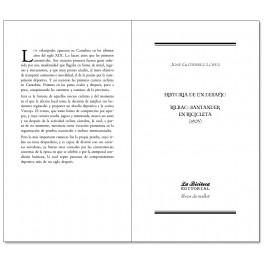 Historia de un desafio. Bilbao-Santander en bicicleta (1903) - José Gutiérrez López
