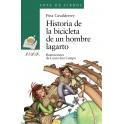 Historia de la bicicleta de un hombre lagarto - Fina Casalderrey. Ilustraciones de Laura Súa Campo